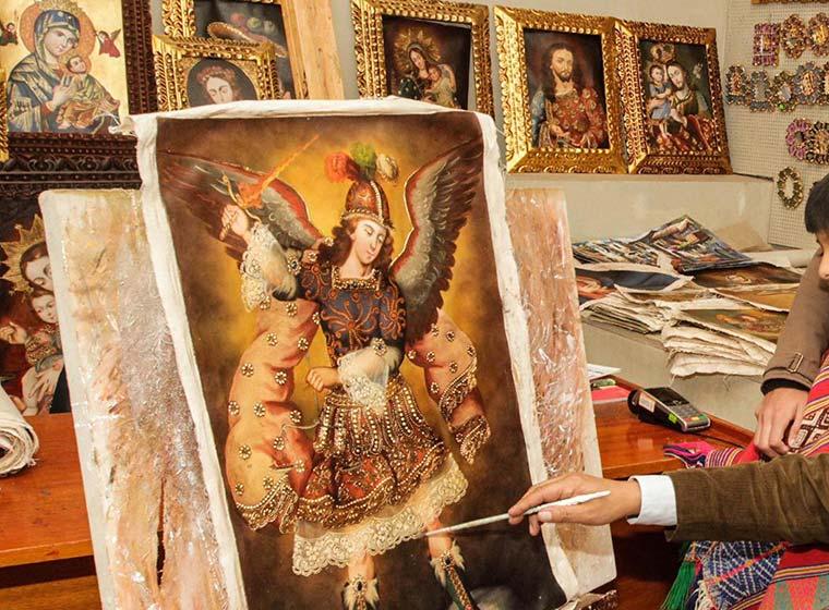 venta de pinturas cusqueñas, cusco