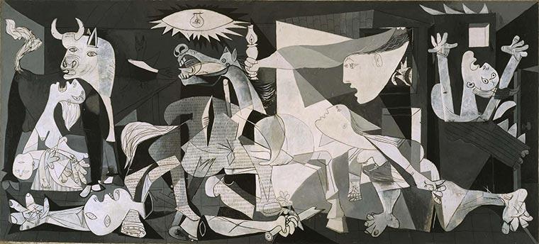 pinturas famosasGuernica
