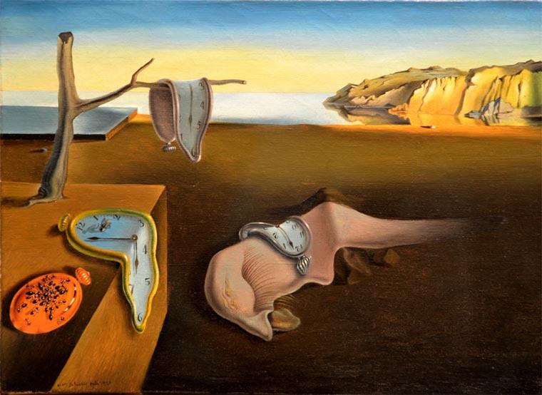 pinturas famosas persistencia memoria