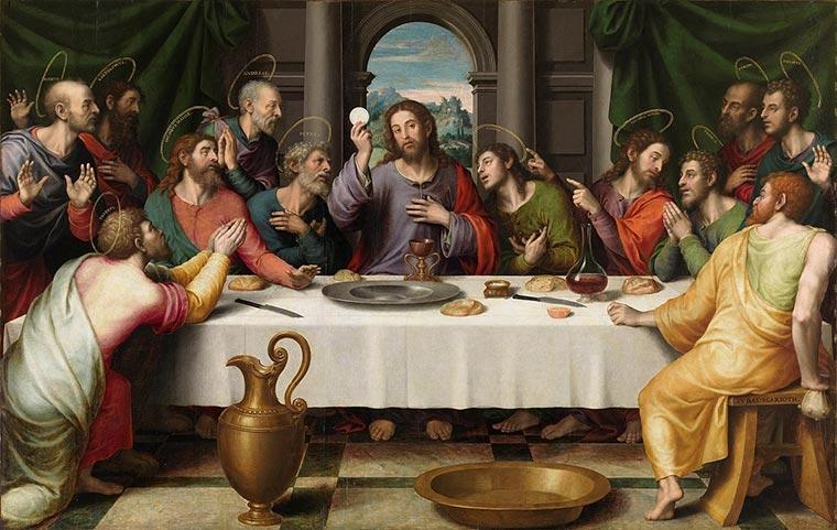 pinturas famosas ultima cena