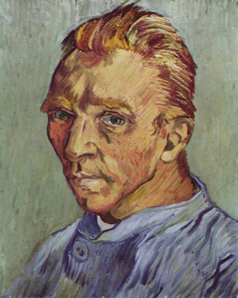 pinturas famosas retrato sin barba
